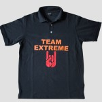 Team Extreme black polo